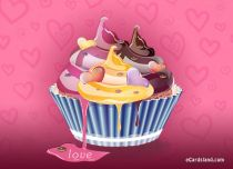 eCards Valentine's Day  Muffin for Lovers, Muffin for Lovers