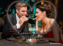 eCards Valentine's Day  Romantic Dinner for Two, Romantic Dinner for Two