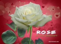 eCards Valentine's Day  Rose for Your Sweetheart, Rose for Your Sweetheart
