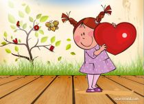 Free eCards - Special Heart for You,