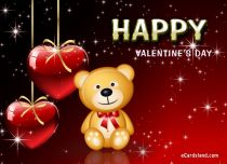 eCards Valentine's Day  Teddy Bear and Valentine's Day, Teddy Bear and Valentine's Day