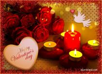 Free eCards, Valentine's Day ecards with music - Valentine's Evening,