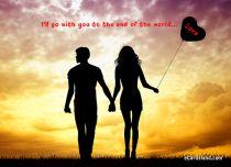 eCards Valentine's Day  Walk of Love, Walk of Love