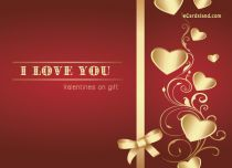eCards  Valentines on Gift,