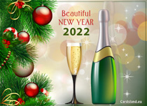 eCards New Year Beautiful New Year 2020, Beautiful New Year 2020