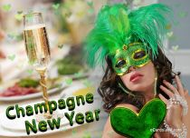 Free eCards - Champagne New Year,