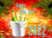 Free eCards - Cheers in the New Year 2020,