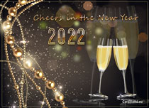 eCards  Cheers to A New Year 2020,