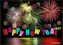 eCards New Year Colorful New Year 2020, Colorful New Year 2020