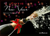 Free eCards - Delicious Champagne New Year 2019,