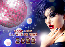 Free eCards, New Year cards messages - Good Luck in the New Year 2019,