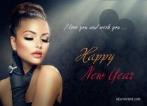 eCards New Year I Love You and Wish You, I Love You and Wish You