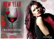 eCards New Year I Wish You Fun Until Dawn, I Wish You Fun Until Dawn