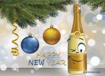 eCards New Year I Wish You Good Humor, I Wish You Good Humor