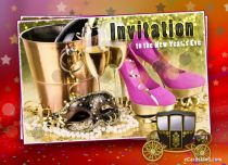 Free eCards New Year - Invitation,