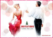 eCards New Year Invitation to New Year's Eve, Invitation to New Year's Eve