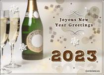 Free eCards - Joyous New Year Greetings,
