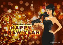 eCards New Year My Wishes for You, My Wishes for You