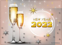 Free eCards - New Year 2020 eCard,