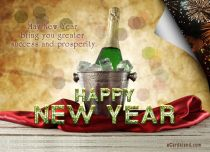 Free eCards, Happy New Year e-cards - New Year e-Card for You,