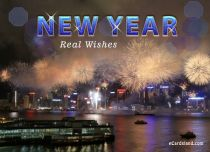 Free eCards - New Year Fireworks,