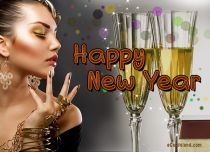 Free eCards - New Year Greetings,