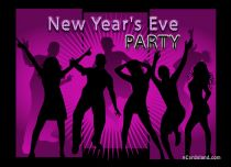 Free eCards New Year - New Year's Eve Party,