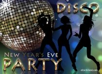 Free eCards, New Year cards free - New Year's Eve Party,