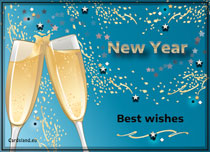 Free eCards - New Year's Toast,