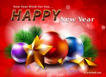 eCards - New Year Wish for You,