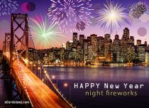 Free eCards - Night Fireworks,