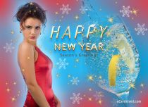 eCards New Year Season's Greetings, Season's Greetings