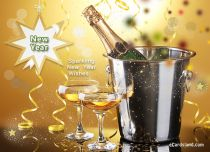 Free eCards - Sparkling New Year Wishes,