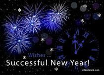 eCards New Year Successful New Year, Successful New Year