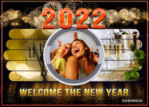 Free eCards - Welcome the New Year 2020,
