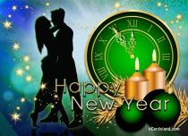 eCards New Year When the Clock Strikes Midnight, When the Clock Strikes Midnight