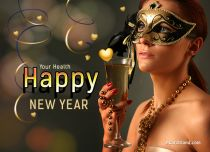 Free eCards, Happy New Year e-cards - Your Health,