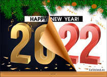 Free eCards, Free e cards - Happy New Year 2021,