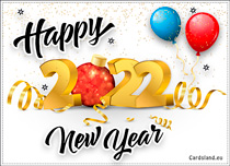 Free eCards, e-Cards with music - In this New Year 2020,