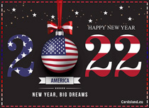 Free eCards, Free e cards - New Year 2021 Big Dreams,