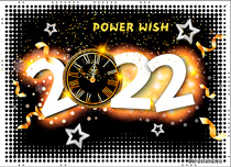 Free eCards, New Year greeting cards - Power Wish,