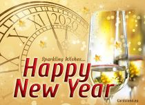 Free eCards, New Year greeting cards - Sparkling Wishes,