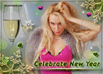 Free eCards - Celebrate New Year 2020,