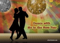 eCards New Year Dance with Me in the New Year, Dance with Me in the New Year