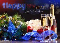 eCards New Year Joyful Wishes, Joyful Wishes