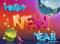 eCards New Year New Year eCard, New Year eCard