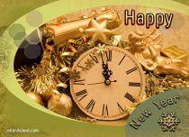 eCards New Year New Year Wish, New Year Wish