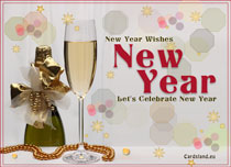 eCards  New Year Wishes,