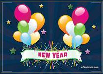 eCards New Year Night Full of Splendor, Night Full of Splendor