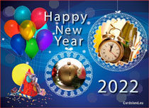 eCards New Year Wish Happy New Year 2020, Wish Happy New Year 2020